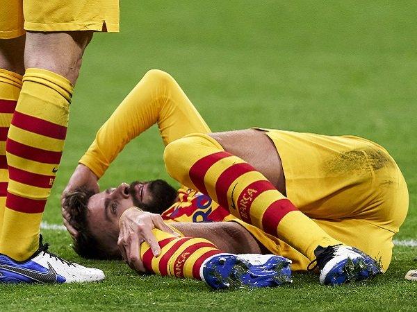 Tin bóng đá tối 23/11: Pique nghỉ 3-5 tháng vì chấn thương