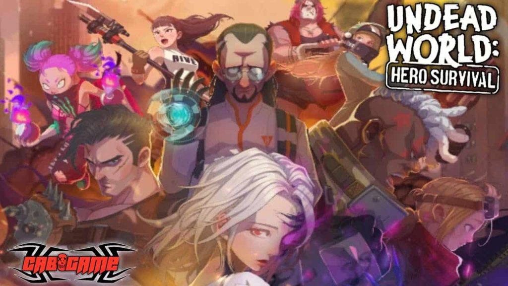 Undead World: Hero Survival game Idle lấy đề tài chiến đấu Zombie đầy thú vị