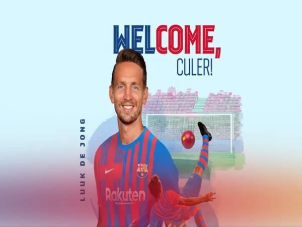 Tin thể thao 1/9: Barcelona chốt xong Luuk de Jong thay thế hàng công